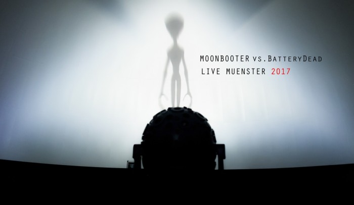 moonbooter vs Battery Dead Live Muenster 2017